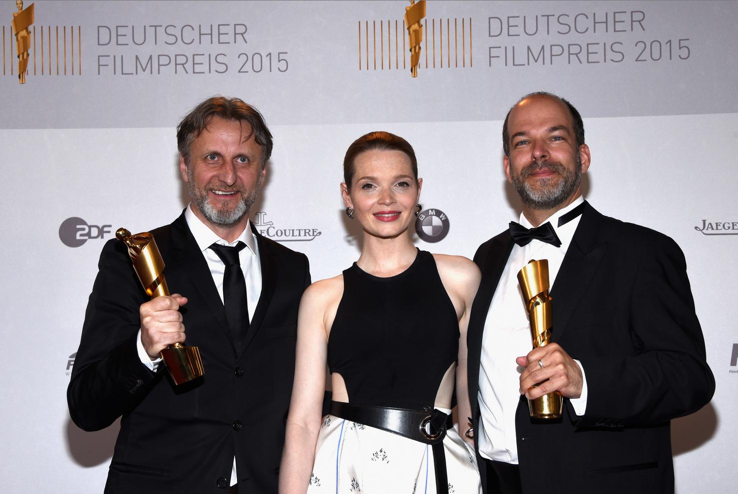 Robert Marciniak, Karoline Herfurth, Philipp Budweg (©Clemens Bilan)