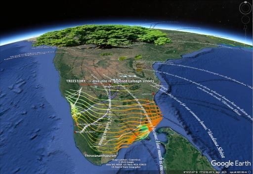 TreeStory 1- Google Earth Tree Planting – zoom in!